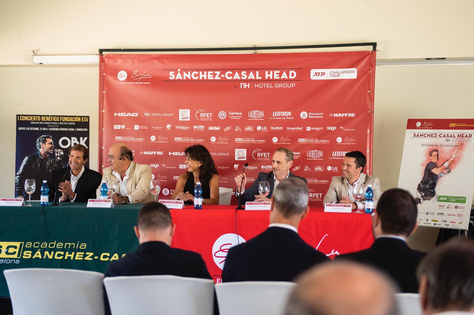 Image for II SÁNCHEZ-CASAL HEAD BY NH HOTEL GROUP, DEL ATP CHALLENGER TOUR ORGANIZADO POR FUNDACIÓNESV
