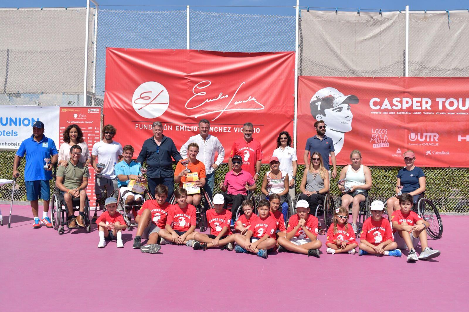 Image for Jef Vandorpe y Viktoriia Lvova campeones VII ITF Wheelchair Fundación Emilio Sánchez Vicario