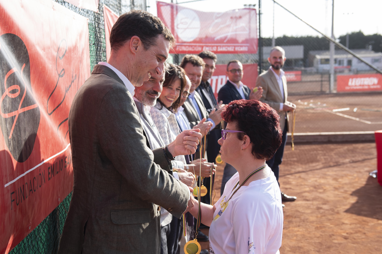 Image for Clausura 7º Curso Tenis para capacidades diversas y Entrega Becas Vamos ColaCao, CSD y Fundación Emilio Sánchez Vicario