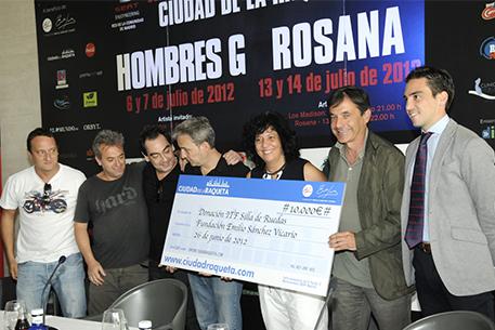 II Festival de Música Ciudad de la Raqueta muestra su lado más solidario photo