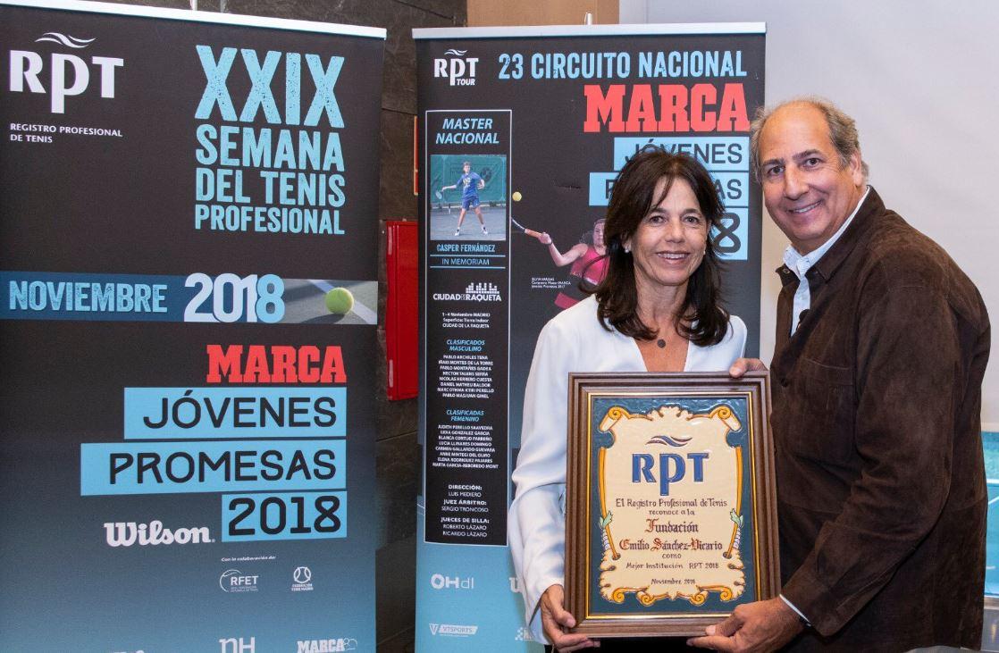 Image for La Fundación Emilio Sánchez Vicario, premiada por el RPT por su labor solidaria