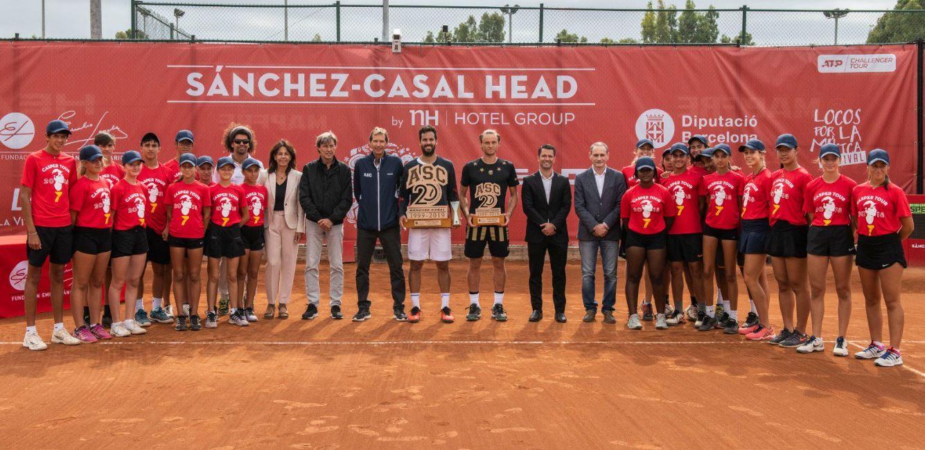 Image for El italiano Salvatore Caruso campeón del II Challenger Sánchez-Casal Head by NH Hotel Group